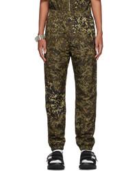 Givenchy Black Leopard 4g Lounge Pants