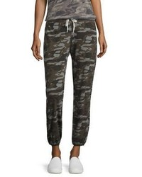 Camouflage print drawstring sweatpants medium 797300