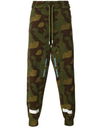 Off-White Camouflage Sweatpants