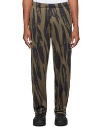 Kenzo Pleat Camo Lounge Pants