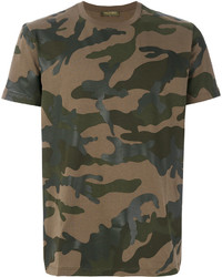 Valentino Camouflage T Shirt