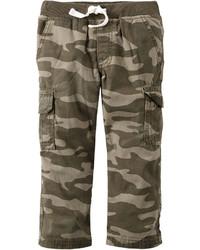 Carter's Carters Camo Cotton Cargo Pants Boys 4 8