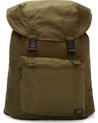Olive Canvas Backpack