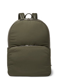 Loro Piana Voyager Leather Trimmed Storm System Shell Backpack
