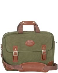 High Sierra Heritage Collection Briefcase Leather Trim