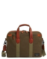 Rag and Bone Rag Bone Derby Cotton Canvas Briefcase