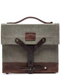 Will Leather Goods Found Surplus Canvas Swiss Medic Bag