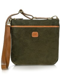 Bric's Life Olive Green Urban Crossbody Bag