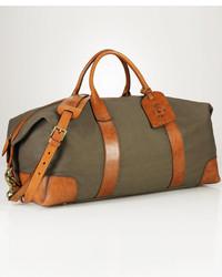 Polo Ralph Lauren Bag Canvas Leather Duffel