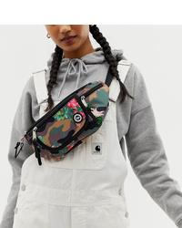 Hype Camo Floral Bum Bag