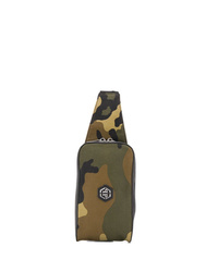 Philipp Plein Camouflage Print Belt Bag