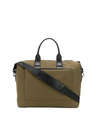 Olive Canvas Holdall