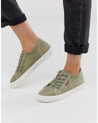 Levi's Canvas Shoe With