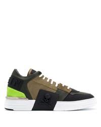 Philipp Plein Colour Block Sneakers