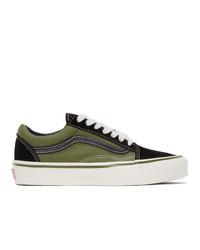 Vans Green And Black Og Old Skool Lx Sneakers