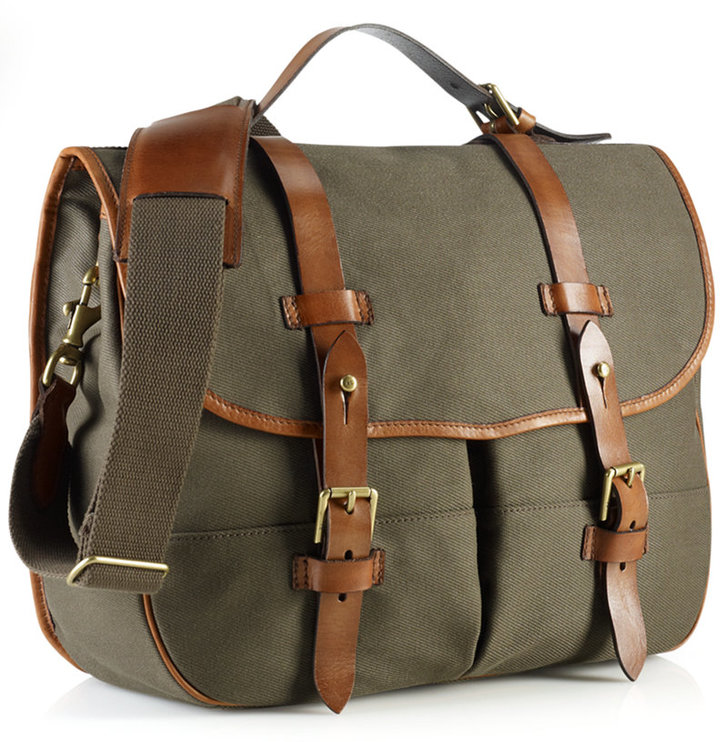352c80d14 Polo Ralph Lauren Bag Core Canvas Messenger Bag, $350 | Macy's ...