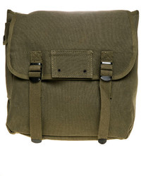 Rothco the heavyweight canvas musette bag in olive medium 142861