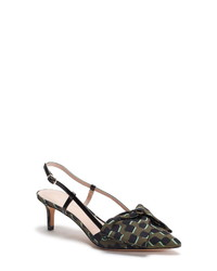 kate spade new york Marseille Bow Pointed Toe Slingback Pump