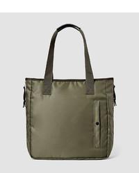 AllSaints Chamber Nylon Tote Bag