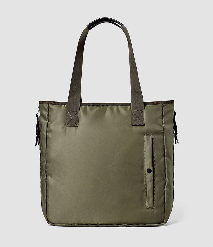 AllSaints Chamber Nylon Tote Bag | Where to buy & how to wear