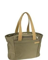 Briggs riley baseline large shopping tote olive medium 89731