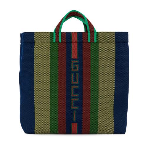 c2ae573fa Gucci Gg Stripe Tote Bag, $885   farfetch.com   Lookastic.com