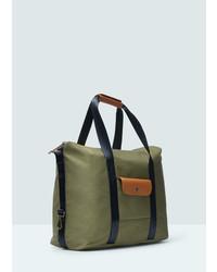 Mango Man Pocket Tote Bag