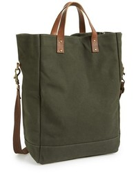 United By Blue Market Organic Waxed Canvas Tote