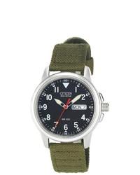 Citizen eco drive canvas strap watch medium 252944