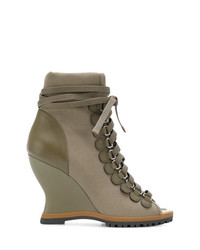 Chloé River Wedge Boots