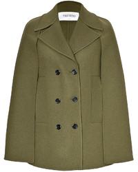 Olive cape coat original 10130273