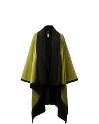 Jean Paul Gaultier Vintage Felt Shawl Wrap Coat