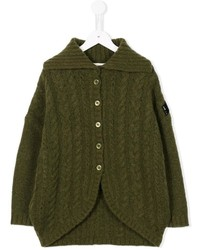 Diesel Kids Cable Knit Cardigan