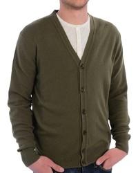 Barbour Harrow Cardigan Sweater Merino Wool And Cashmere