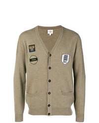 Kent & Curwen Patch Work Fitted Cardigan