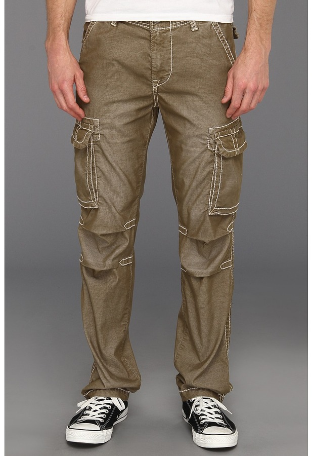 super cute big selection of 2019 enjoy discount price Anthony Big T Corduroy Cargo Pant In Old Sage Jeans