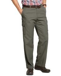 croft & barrow Canvas Flat Front Cargo Pants