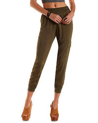 Charlotte Russe Cargo Jogger Pants