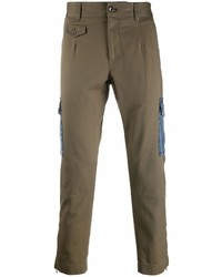 Dolce & Gabbana Contrasting Pocket Straight Leg Trousers
