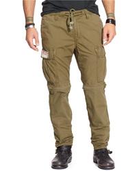 Denim & Supply Ralph Lauren Convertible Poplin Cargo Pants