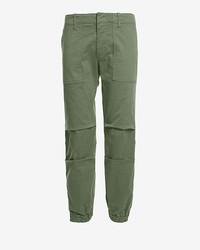 Nili Lotan Cropped Cargo Pant