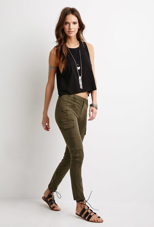 Creative Army Pants For Women Forever 21  Wwwgalleryhipcom  The Hippest