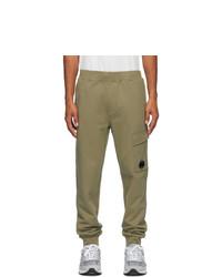 C.P. Company Green Cargo Lounge Pants
