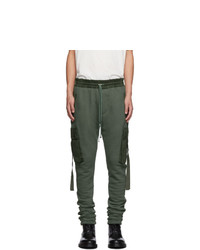 Amiri Green Cargo Lounge Pants