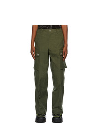 Sankuanz Green Cargo Pants