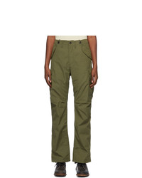VISVIM Green Jumbo Eiger Sanction Cargo Pants