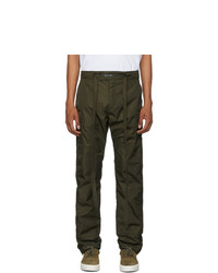Fear Of God Green Nylon Snap Cargo Pants