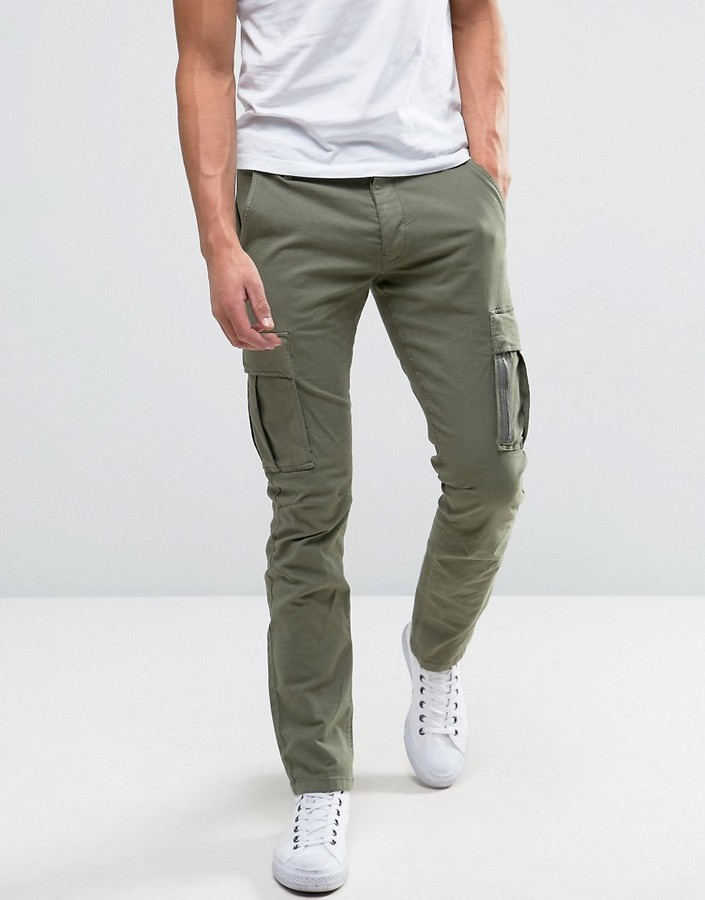 4372903f Selected Homme Slim Fit Cargo Pant, $66 | Asos | Lookastic.com