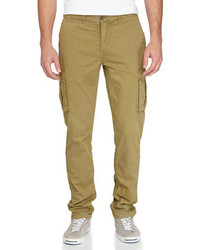 Jachs Twill Cargo Pants Olive