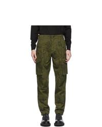 Givenchy Khaki Astral Cargo Pants